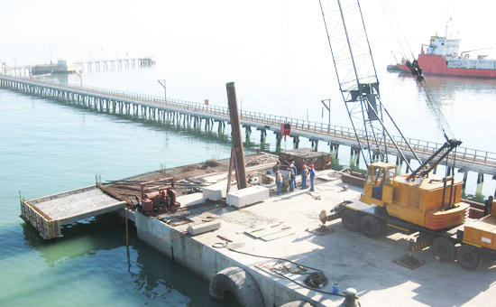 Jetty structure